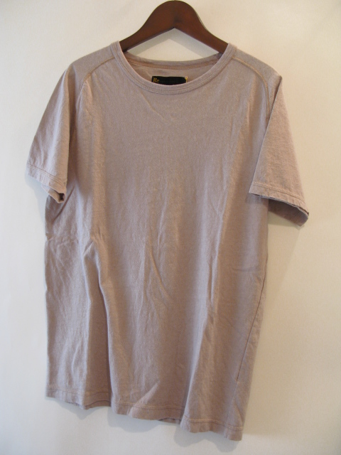 新作『Cotton×Linen Saddle Raglan T-shirt』_e0142928_16415994.jpg