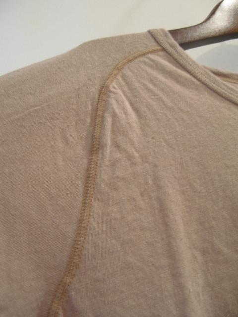 新作『Cotton×Linen Saddle Raglan T-shirt』_e0142928_16534012.jpg