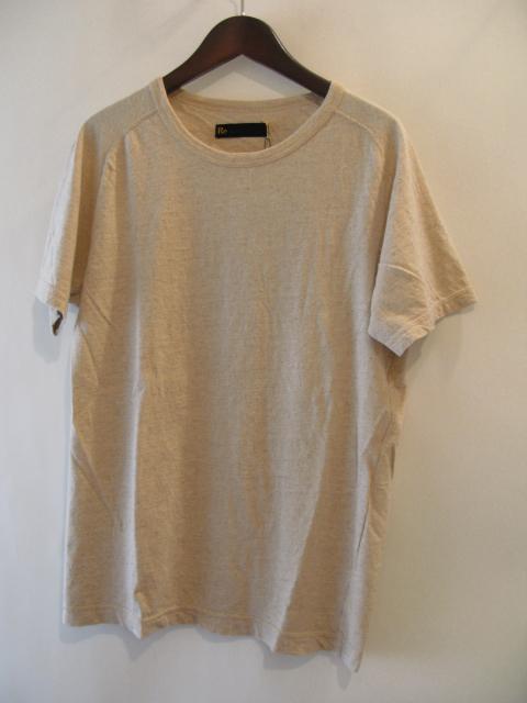 新作『Cotton×Linen Saddle Raglan T-shirt』_e0142928_16545955.jpg