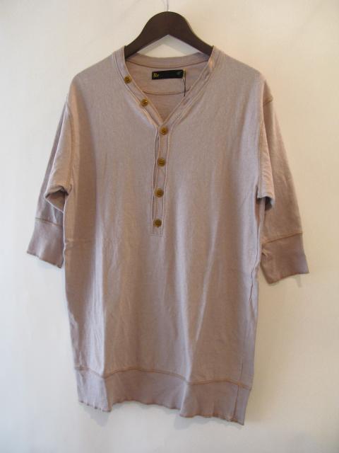 新作『Cotton×Linen Henley Neck Half Sleeve Pullover』_e0142928_17104153.jpg