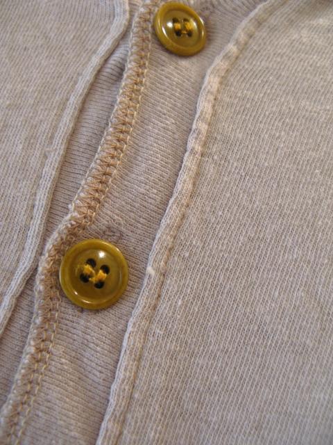 新作『Cotton×Linen Henley Neck Half Sleeve Pullover』_e0142928_17133422.jpg