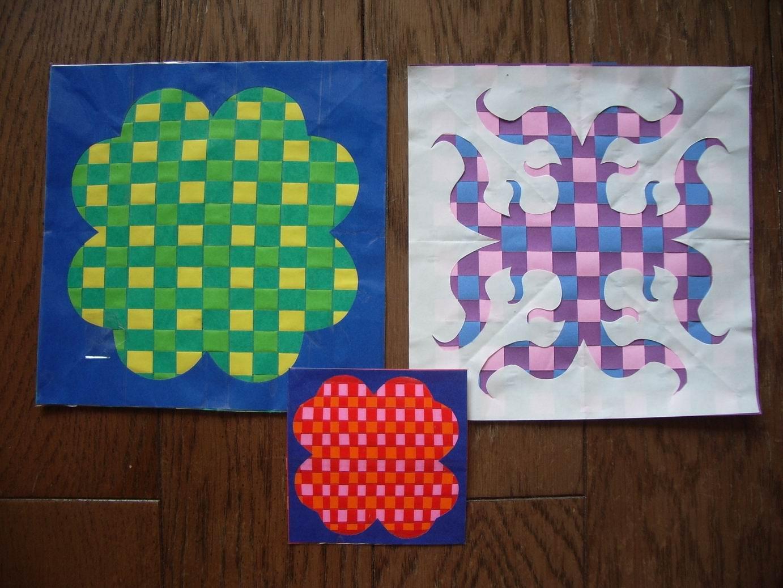 すべての折り紙 折り紙で作るコースター : 折り紙でつくりました ...