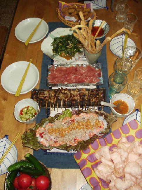 タイ料理パーティー_e0170128_1742758.jpg