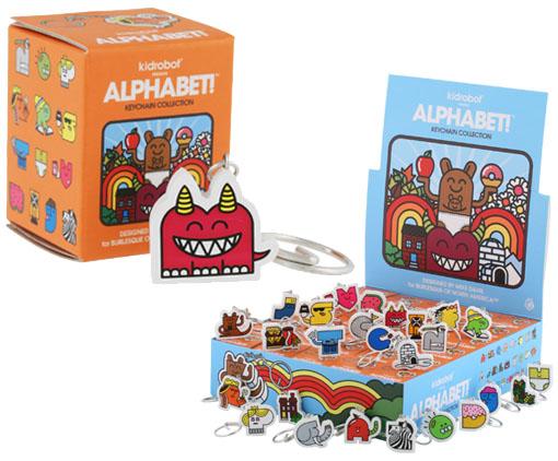 Alphabet! Keychain by Mike Davis _e0118156_1155324.jpg