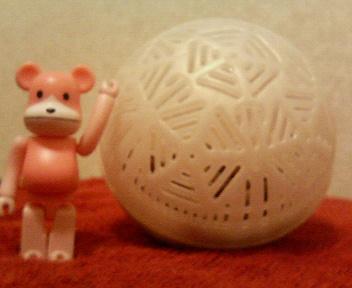 謎の球体?!新しモノ好きな俺♪_b0183113_19231818.jpg