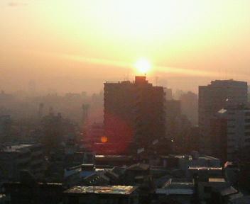 朝焼けの中で…_b0183113_19242372.jpg