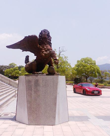 広島でGT-Rの撮影_a0046234_21325539.jpg