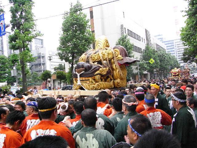 6月14日(日) 築地の祭りでした_d0082944_22485459.jpg