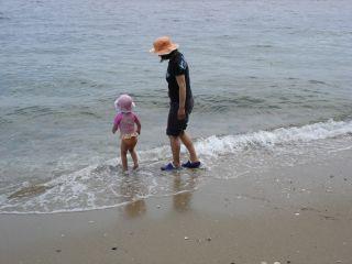 マコと宇品の海に行ってきました。_e0166301_23443747.jpg
