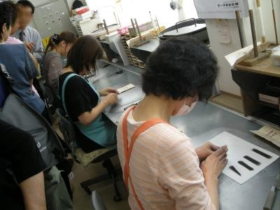 胎毛筆工場見学・日帰り親睦旅行_e0036217_23274061.jpg