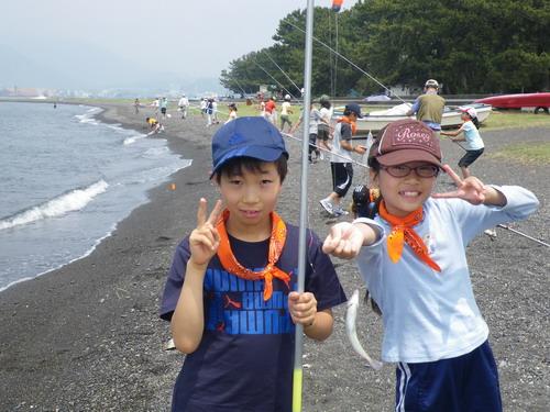 宮谷小学校 タコが良く釣れました。_f0175450_10143100.jpg