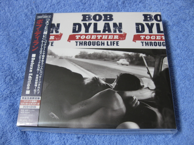 BOB DYLAN / TOGETHER THROUGH LIFE (Deluxe Edition 2-CD + DVD)_c0065426_20281753.jpg