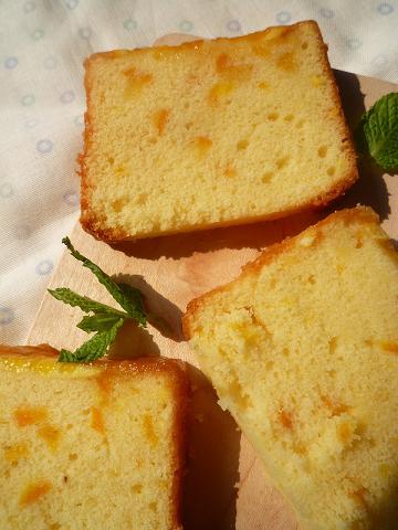 オレンジのパウンドケーキ。_f0193555_1831435.jpg