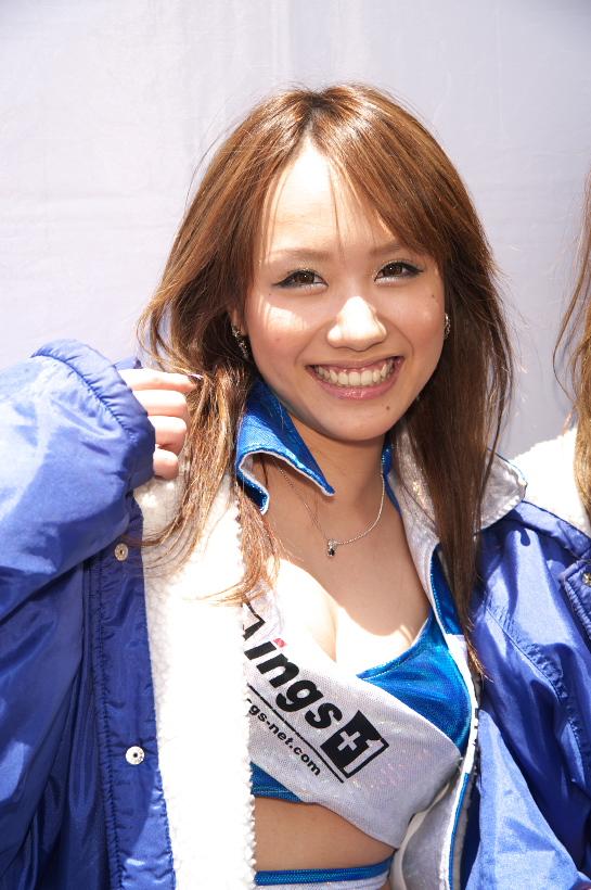 2009 super taikyu  上木真矢サン・西村陽奈サン_b0184276_20292540.jpg