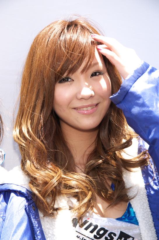 2009 super taikyu  上木真矢サン・西村陽奈サン_b0184276_20312230.jpg