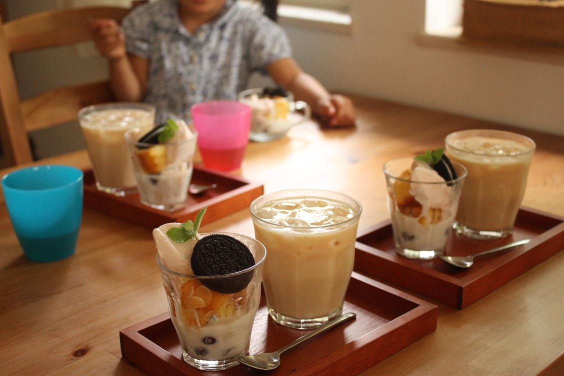 ツナと夏野菜の冷製パスタでおうちカフェ_b0165178_19284527.jpg