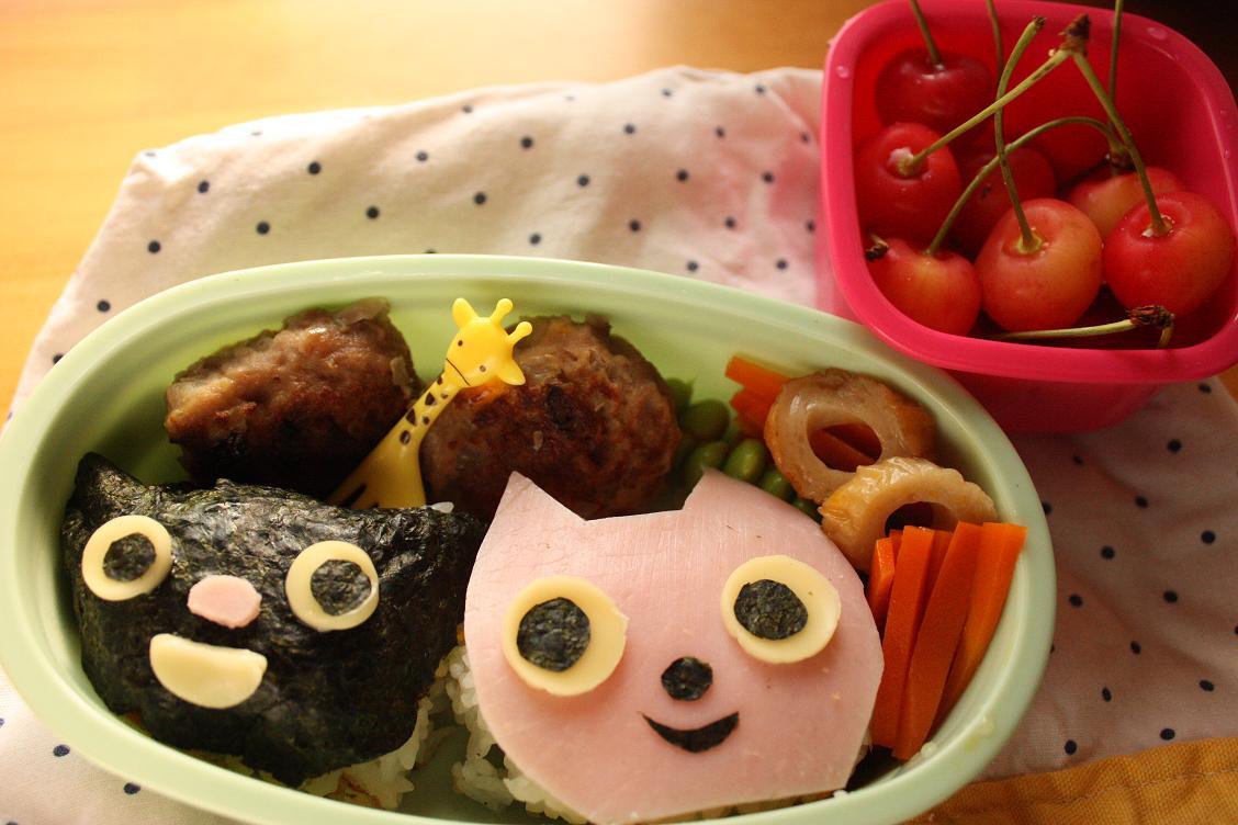 Mimi & Mani 弁当と ニラ豚キムチ。_b0165178_19464291.jpg