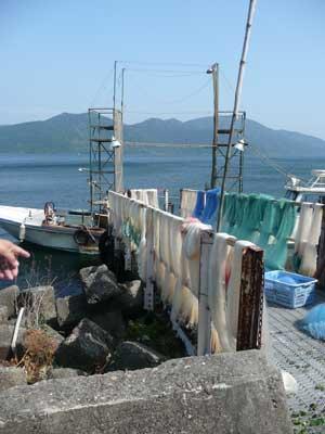 琵琶湖の沖島へ行ってきました!_c0093196_11495559.jpg