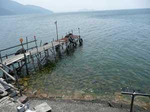 琵琶湖の沖島へ行ってきました!_c0093196_11535974.jpg