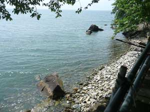 琵琶湖の沖島へ行ってきました!_c0093196_11562874.jpg