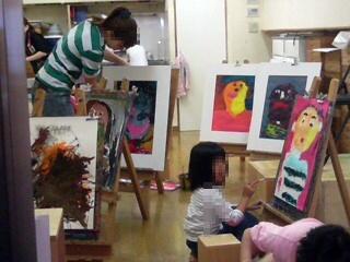 童具館のアトリエ活動 5月_b0137400_10315388.jpg