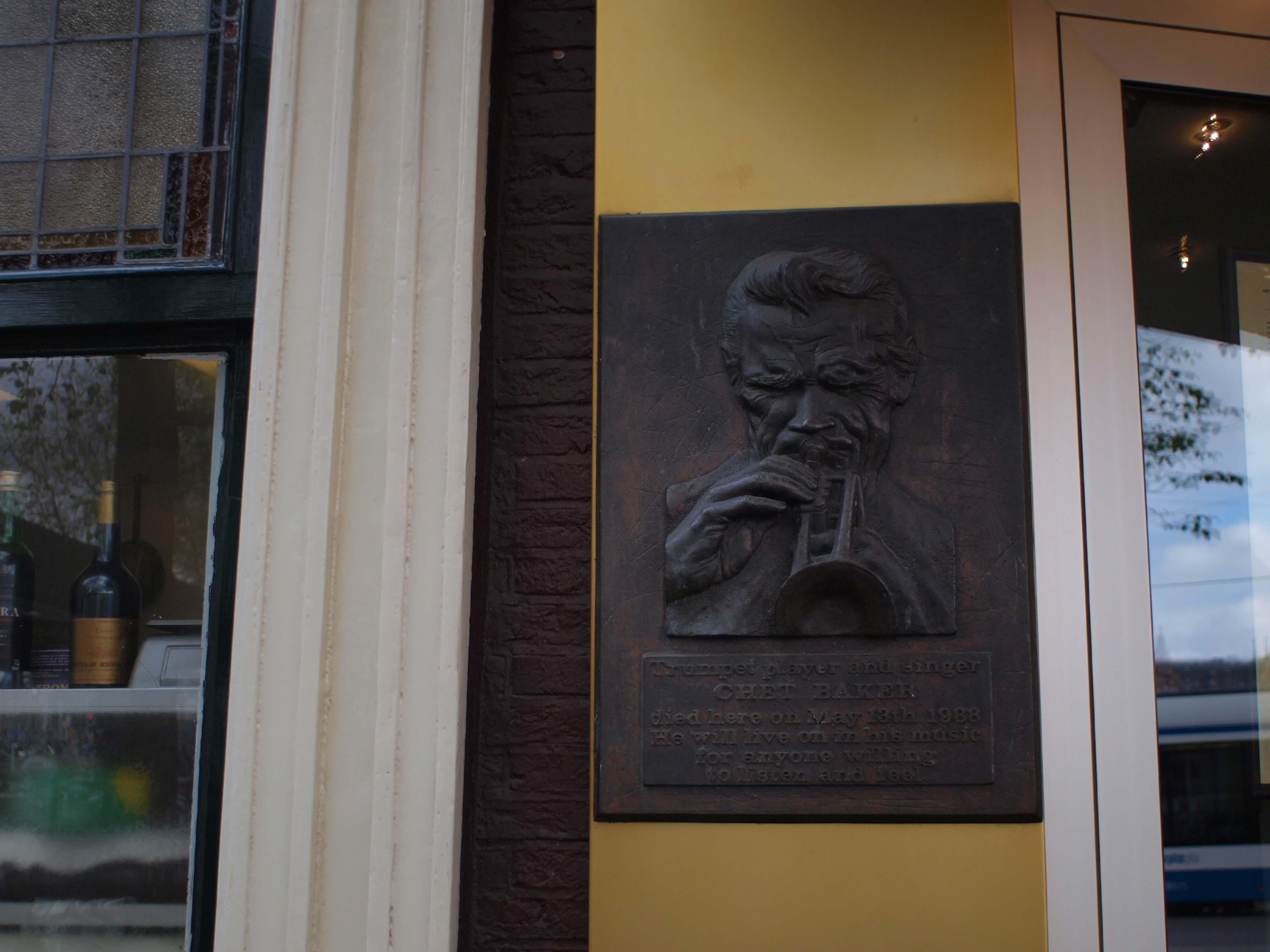 【アムステルダム】 Chet Baker_b0148617_0412178.jpg