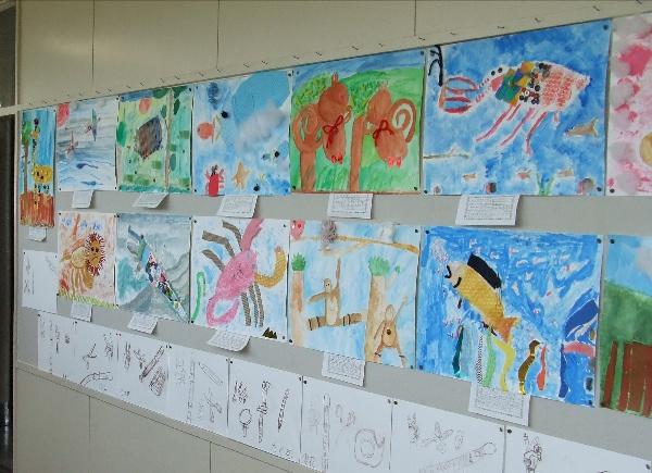 小学校で図画工作の研修会_b0068572_8351135.jpg