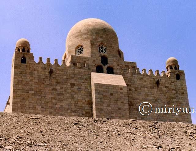 ナイルの眺め&アガー・ハーン : 写真でイスラーム