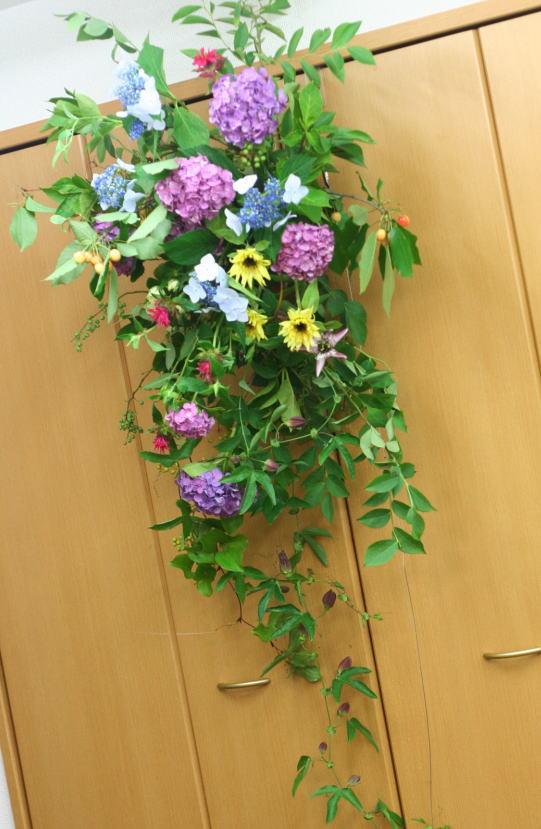 一会レッスン ウエディングコース 結婚式の装花いろいろ_a0042928_20405779.jpg