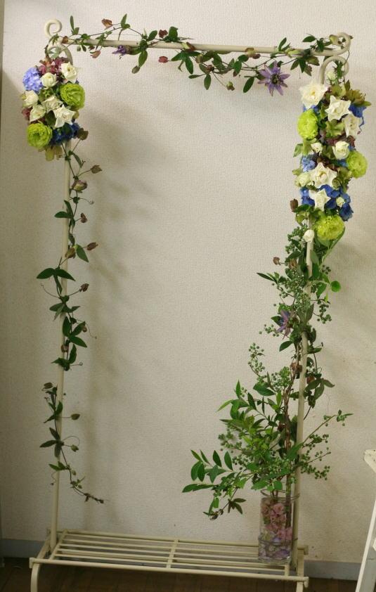 一会レッスン ウエディングコース 結婚式の装花いろいろ_a0042928_20414947.jpg