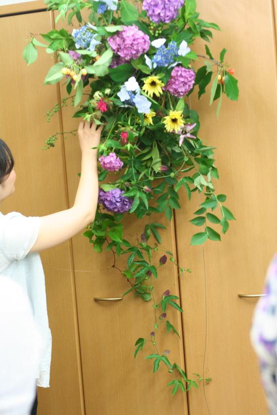 一会レッスン ウエディングコース 結婚式の装花いろいろ_a0042928_2041854.jpg