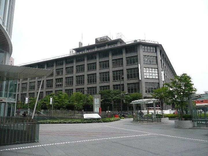 移転した大阪中央郵便局_c0112559_10372119.jpg