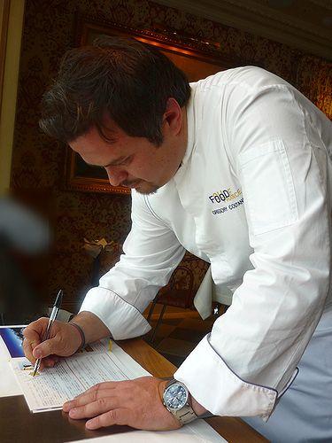 ブノワ東京 フードフランスFood France 2009/2010第1回 シェフ グレゴリー・クータンソー ラ・ロッシェル_a0053662_141362.jpg