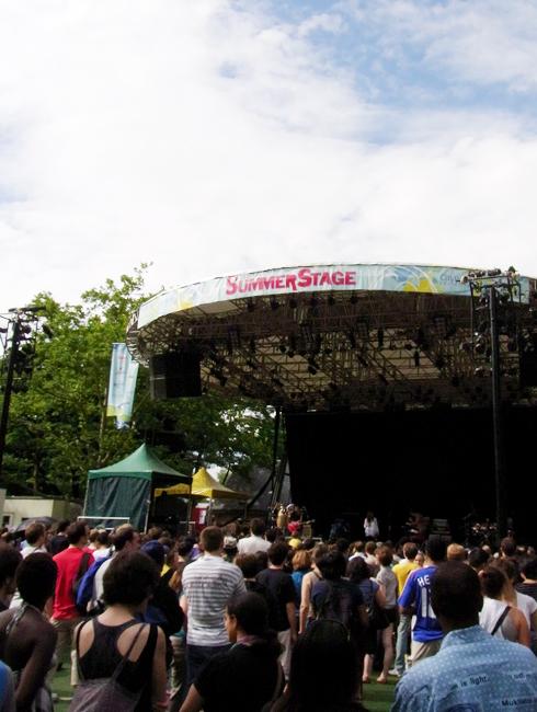 セントラルパークのサマーステージ Central Park SummerStage_b0007805_103088.jpg