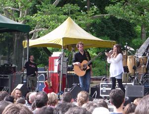 セントラルパークのサマーステージ Central Park SummerStage_b0007805_11088.jpg