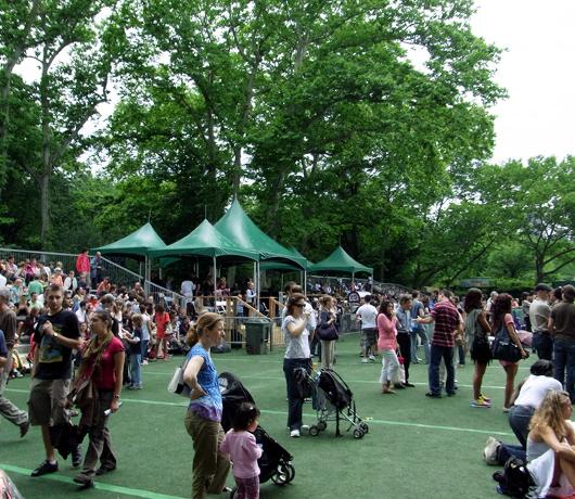 セントラルパークのサマーステージ Central Park SummerStage_b0007805_11491.jpg