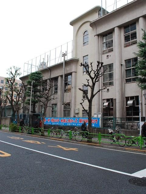 東京都中央区立明石小学校(大正モダン建築探訪)_f0142606_19511628.jpg