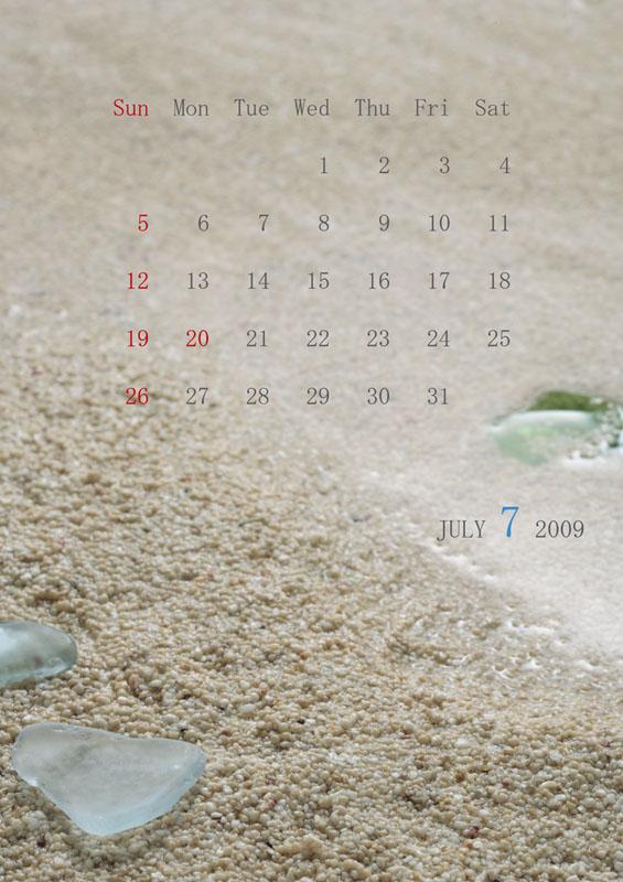 カレンダー2009 7月_c0121907_9115244.jpg