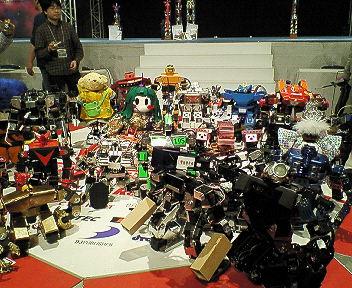 オマケ!ROBO-ONE ロボ勢揃い~★_b0183113_0381575.jpg