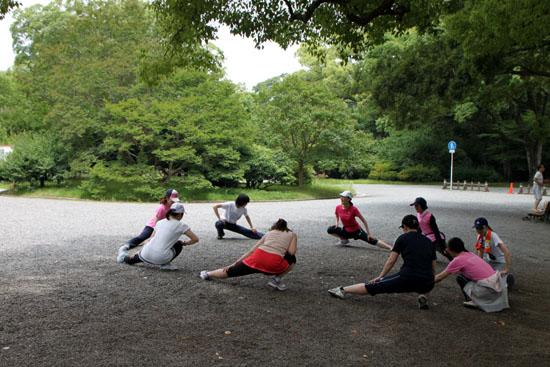 京都御苑を走るーボディズ_e0048413_20282073.jpg