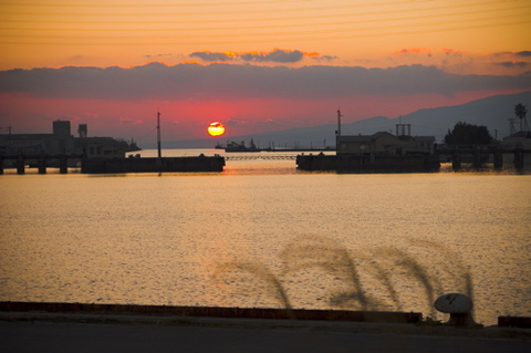 夕日の美しさ・有明の海‥_b0183113_3512725.jpg