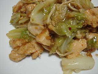 鶏とキャベツの蒸し焼き_c0025217_1112518.jpg