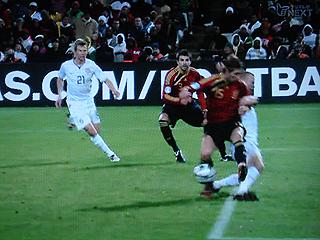 スペイン×アメリカ FIFAコンフェデレーションズカップ2009 準決勝_c0025217_18104157.jpg