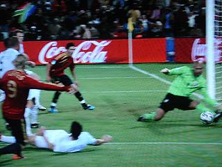 スペイン×アメリカ FIFAコンフェデレーションズカップ2009 準決勝_c0025217_18112489.jpg