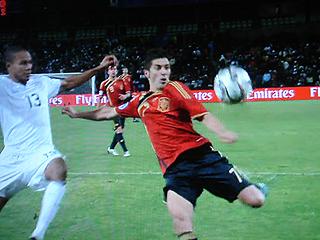 スペイン×アメリカ FIFAコンフェデレーションズカップ2009 準決勝_c0025217_1811596.jpg