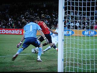 スペイン×アメリカ FIFAコンフェデレーションズカップ2009 準決勝_c0025217_18121437.jpg