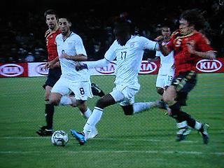 スペイン×アメリカ FIFAコンフェデレーションズカップ2009 準決勝_c0025217_1875362.jpg