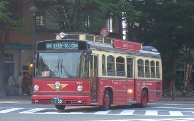 レトロなバス