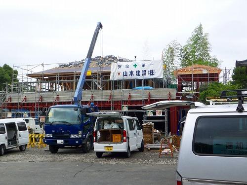屋根工事 願成寺書院・庫裡 2009  _c0087349_4421065.jpg