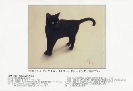 黒猫ミンク 立ちどまる_b0189039_15515562.jpg